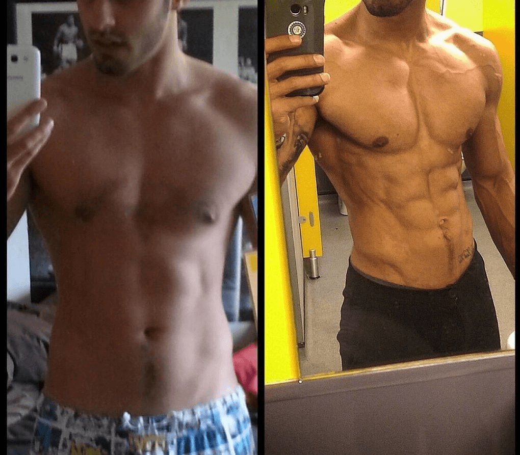 Ostarine-Before-and-after