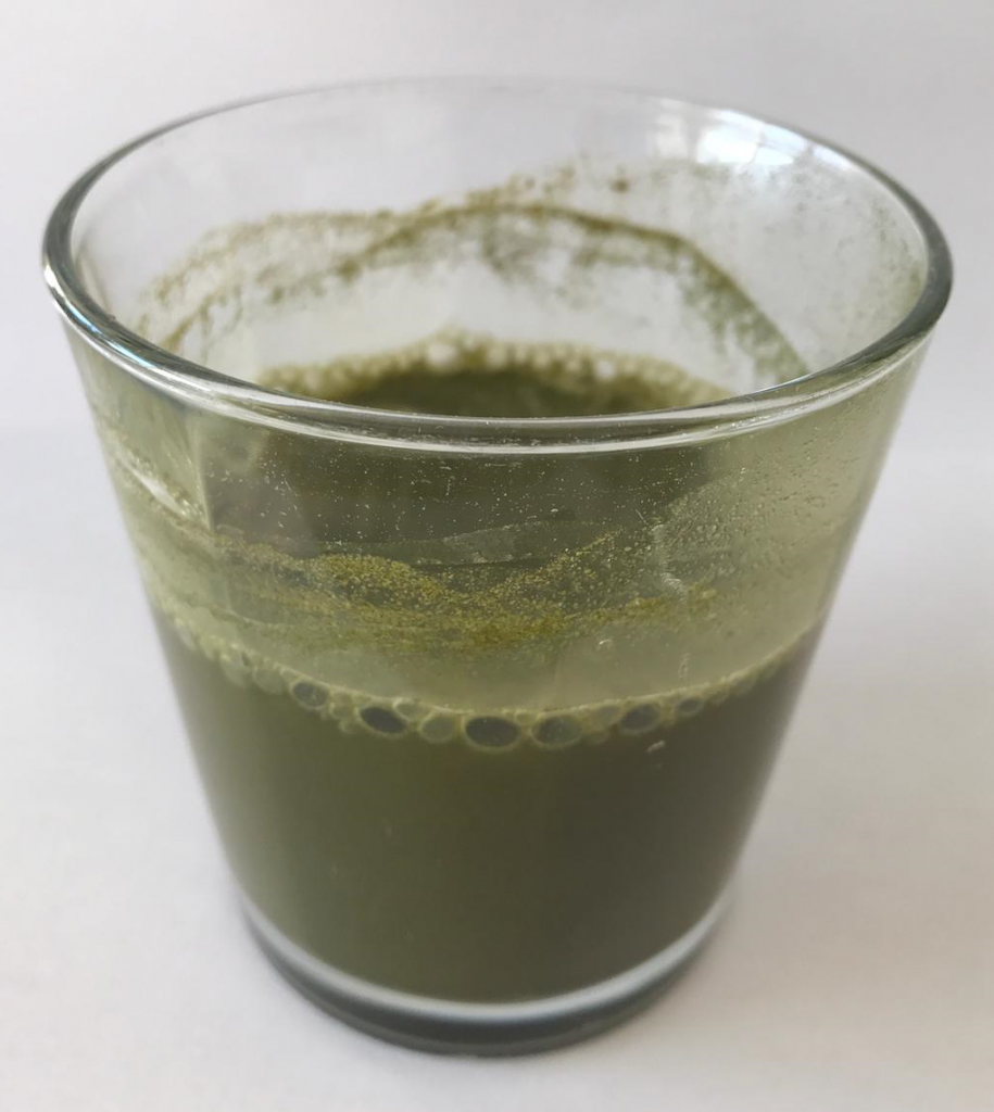 Green malay kratom drink