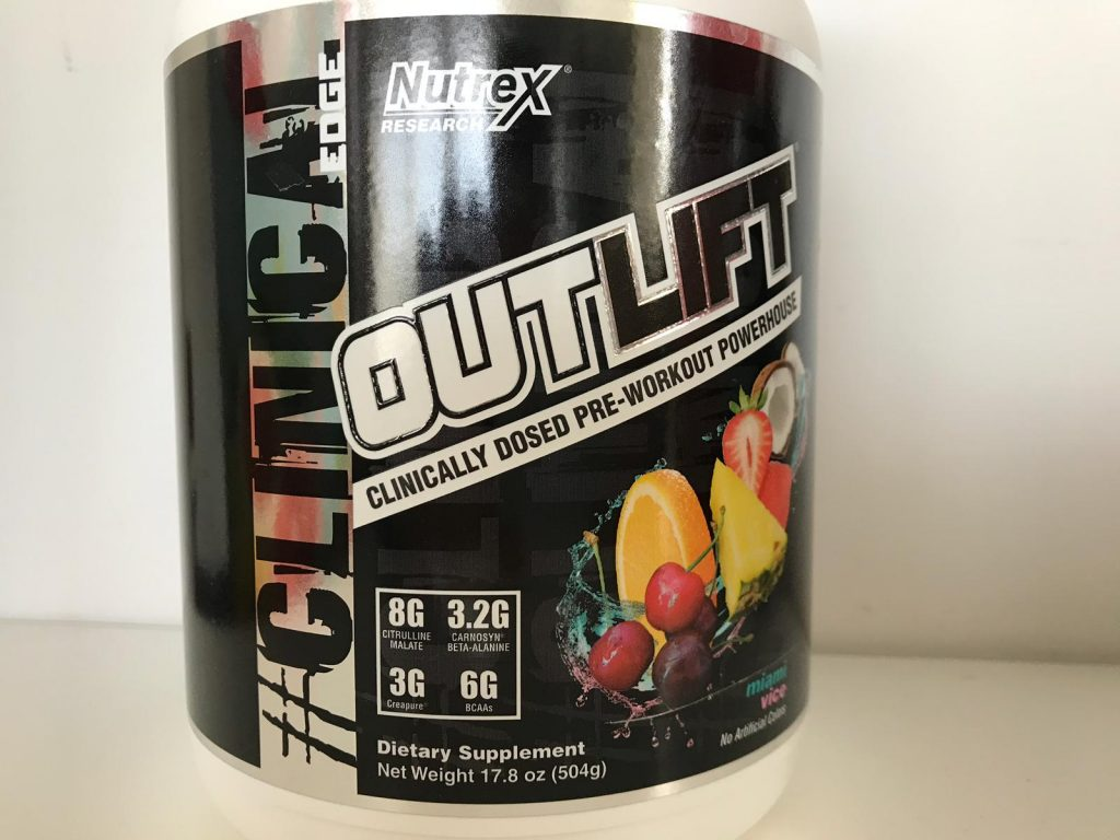 Nutrex Research OUTLIFT Pre Workout