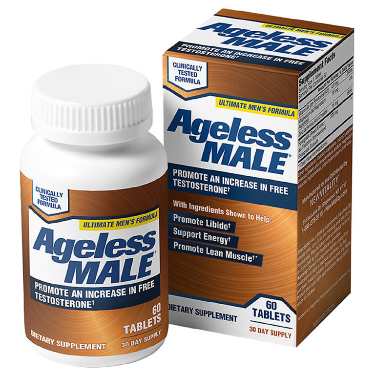Ageless Male Review: Should You Try It? Crazy Results [2019]
