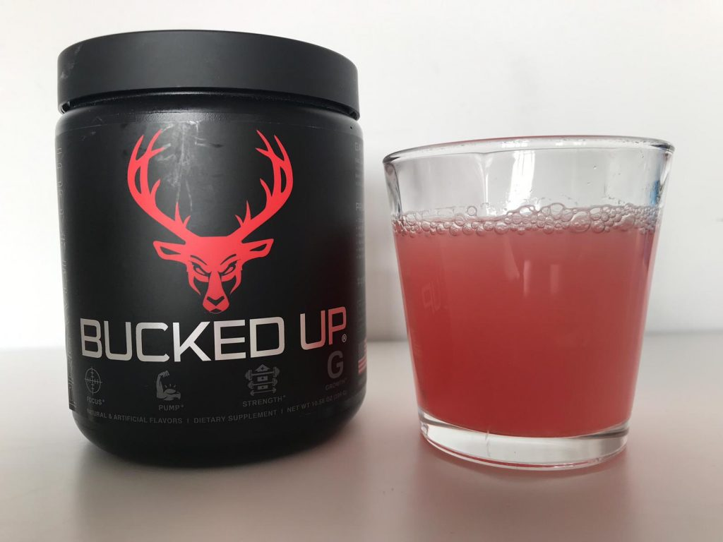 Bucked Up Pre Workout Review