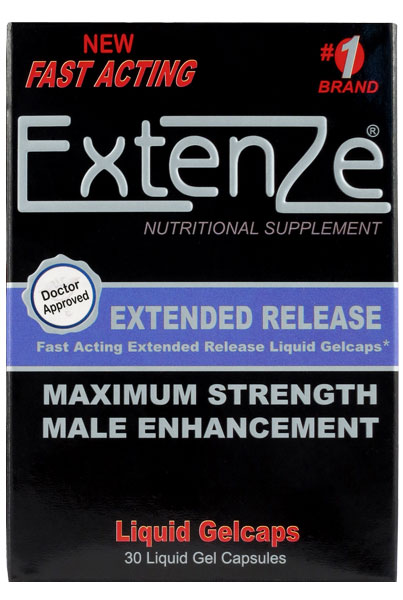 Extenze Extended Release Instructions