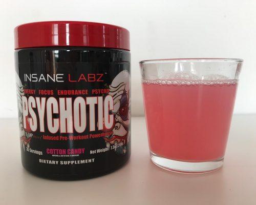 Psychotic Pre Workout Taste